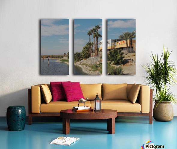 North Shore Beach & Yacht Club Split Canvas print