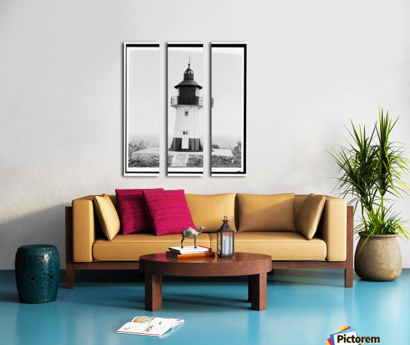 Hams-Bluff-Lighthouse-US-Virgin-Islands Split Canvas print