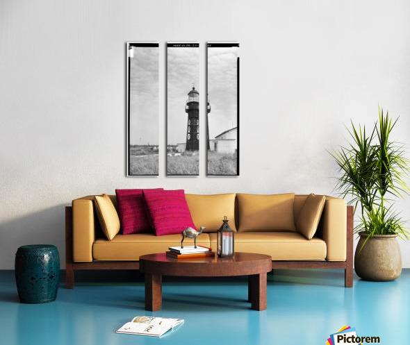 Isla-de-Mona-Light-Puerto-Rico Split Canvas print