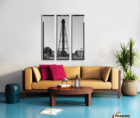 Liston-Range-Rear-Light-Delaware Split Canvas print