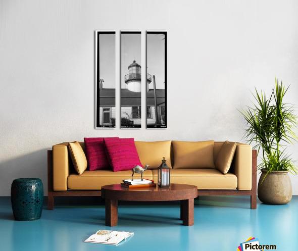 Point-Pinos-Lighthouse-CA Split Canvas print