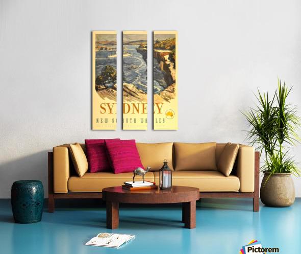 Sydney New South Wales Split Canvas print