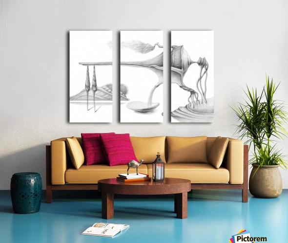 DREAM 01 Split Canvas print