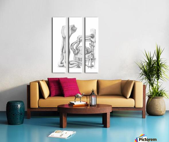 TRANSFORM Split Canvas print