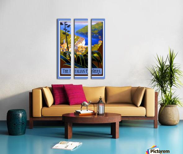 The Italian Riviera Split Canvas print
