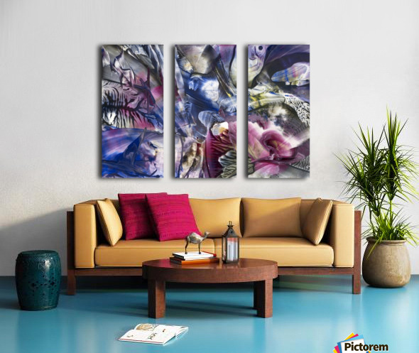 Rebirth Split Canvas print