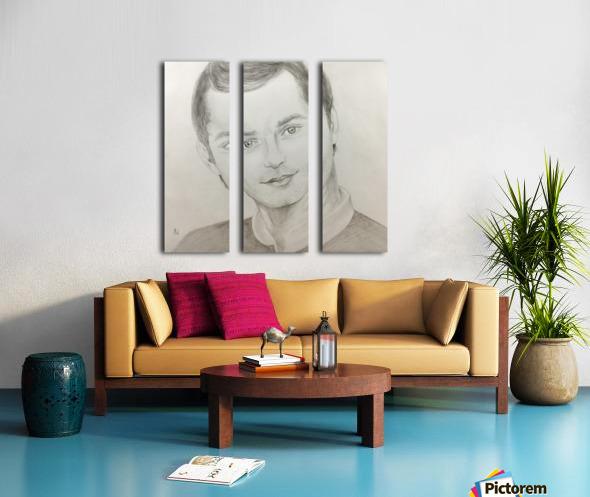 Portrait Split Canvas print
