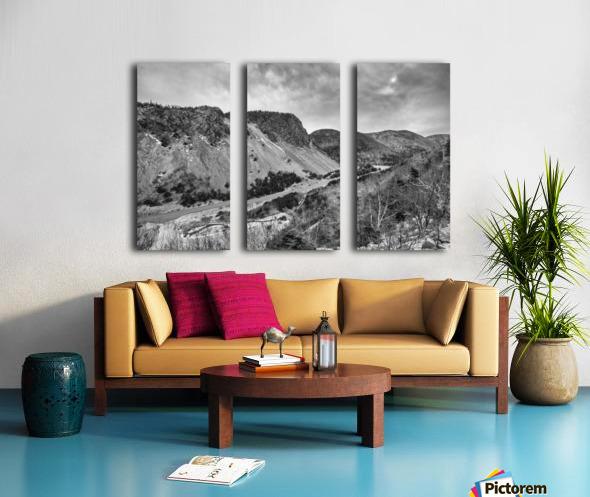 Cliffs of la Grande Falaise Split Canvas print