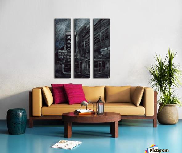 Mayo building Split Canvas print