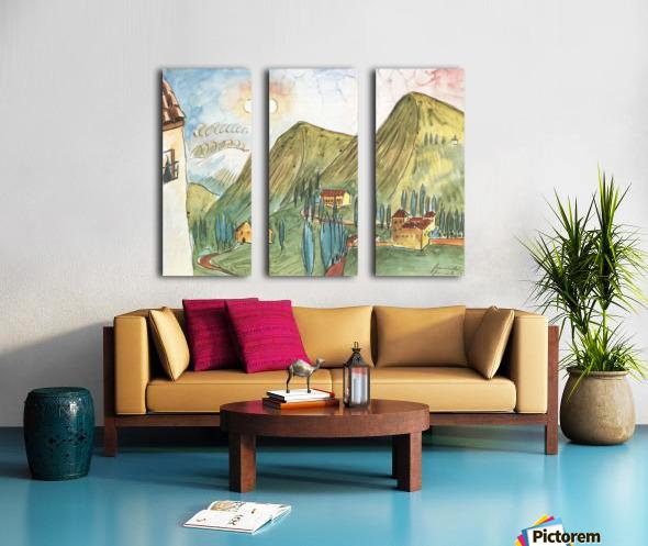 Granada by Walter Gramatte Split Canvas print