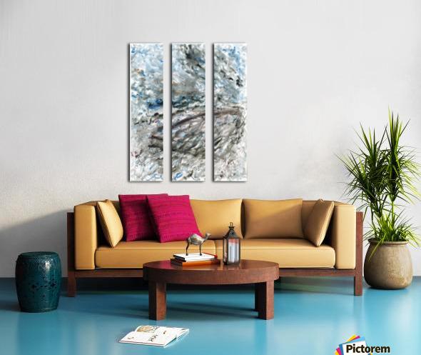 Incertitude Split Canvas print