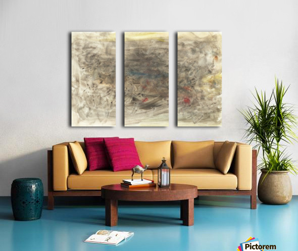 Anger 6 Split Canvas print