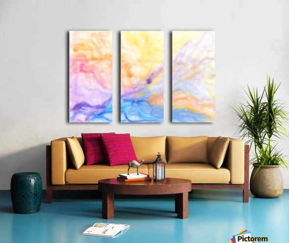 Storm Split Canvas print