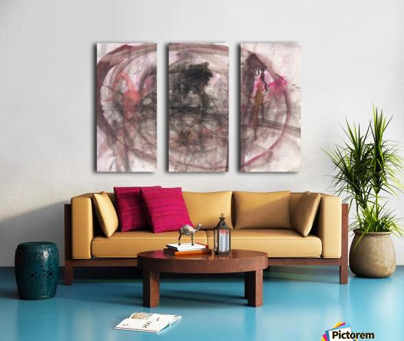 Anger 2 Split Canvas print