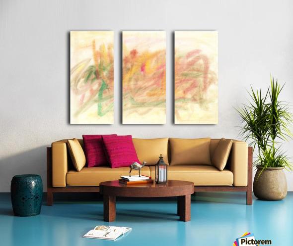 Composition 3 Split Canvas print