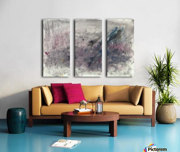 Anger 3 Split Canvas print