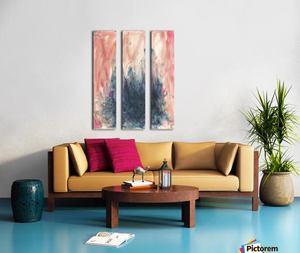 Anger 5 Split Canvas print