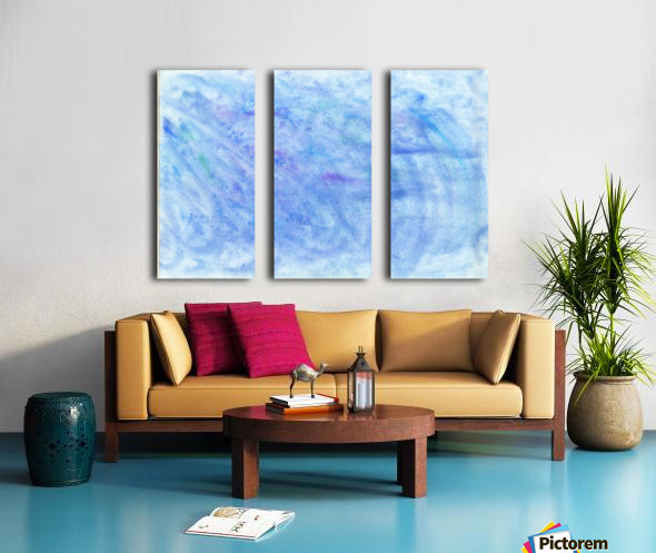 Sea Split Canvas print