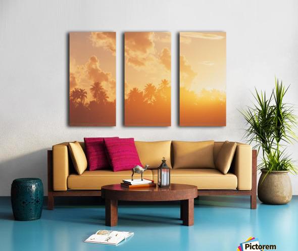 landscape_2_0097 Split Canvas print