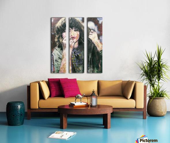 Hochelaga Split Canvas print