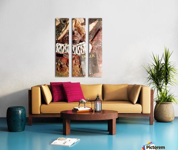 Talk Split Canvas print