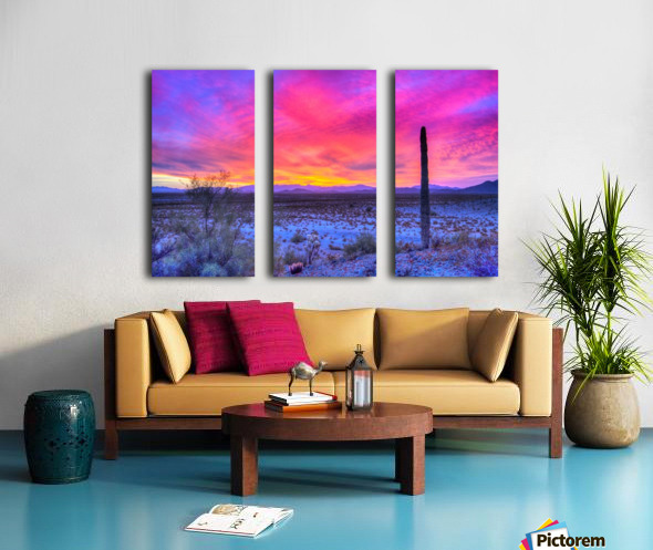 Sonoran_sunset Split Canvas print