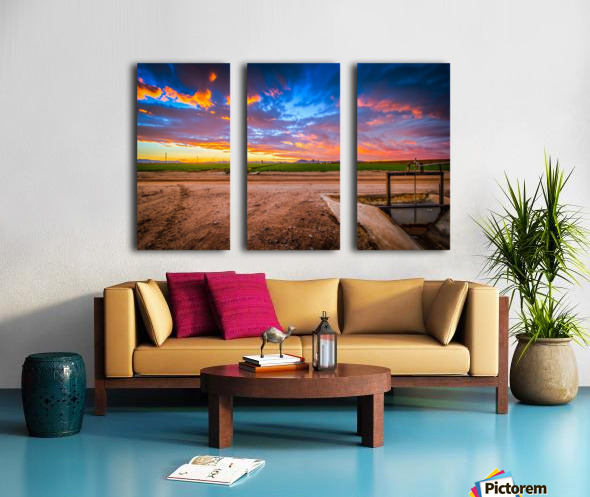 At Days End Split Canvas print