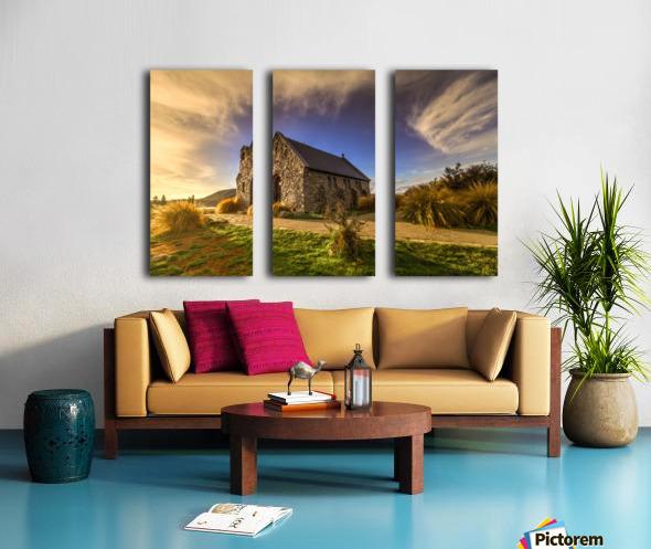Highlights of Shepherd Split Canvas print