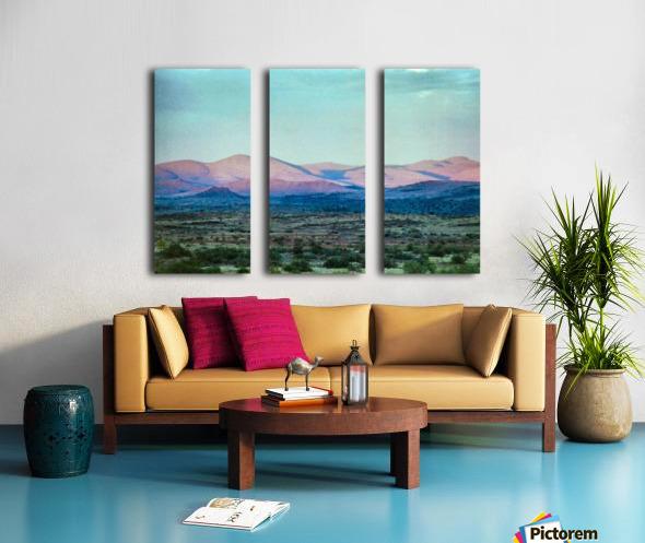 Landscape After A Rain Split Canvas print