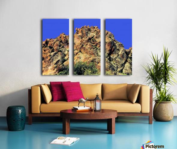 Another Rock Hill  Split Canvas print