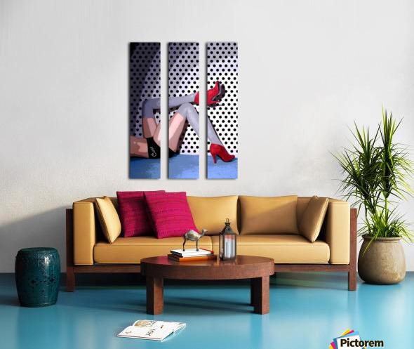 C*NT Split Canvas print