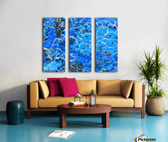 Ocean Split Canvas print