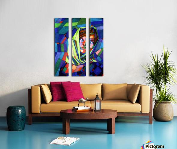 Pieternella - 18-07-15 Split Canvas print