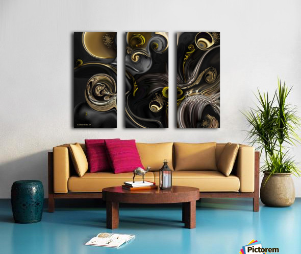 Act Including Instant Creation Split Canvas print