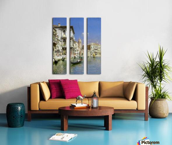 In the gondola Split Canvas print