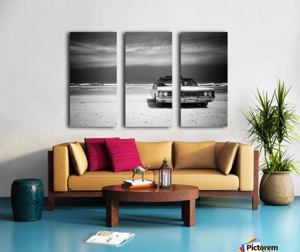 Daytona Beach 2 Split Canvas print