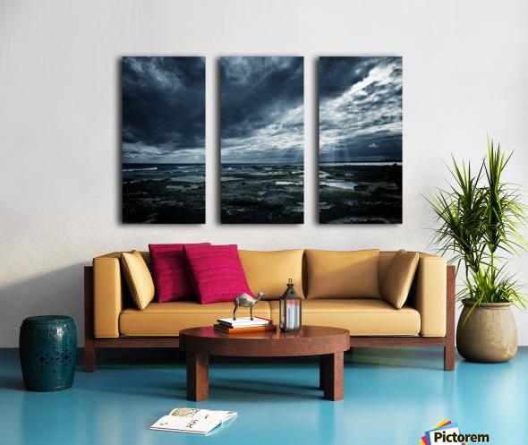 Dramatic Sky Split Canvas print