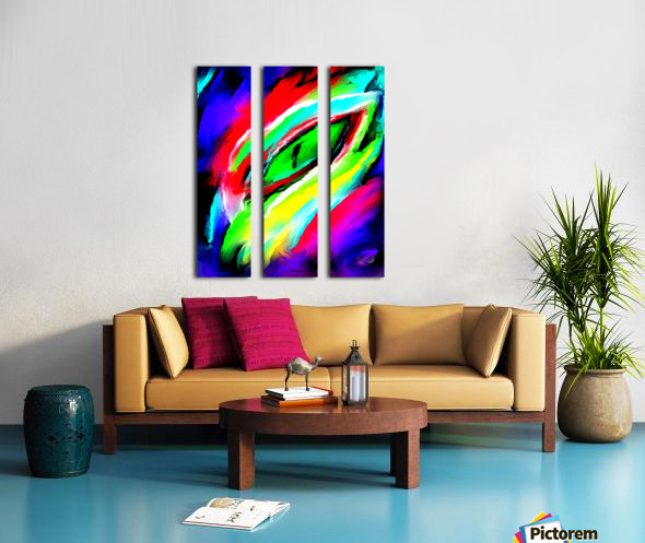 eyee Split Canvas print