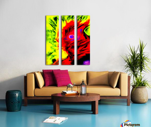 rigo Split Canvas print