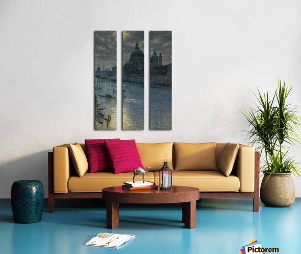 Townscape Split Canvas print