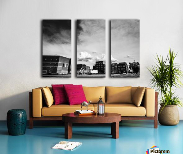 Gloomy Doom Split Canvas print