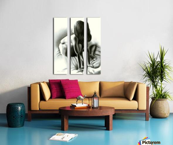 Nude - 03-06-16 Split Canvas print