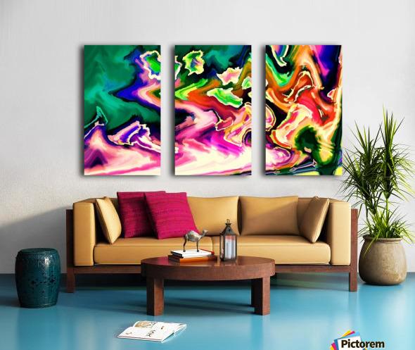 hirarka  Split Canvas print