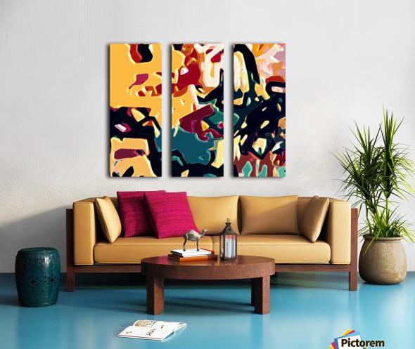 sandier  Split Canvas print