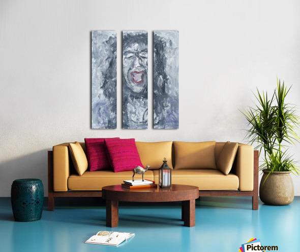 Enough Split Canvas print