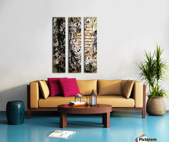 Obsession Split Canvas print