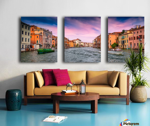 Venice Split Canvas print