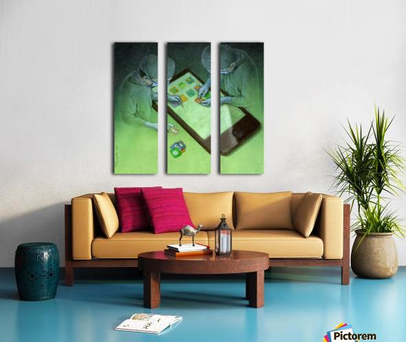 surgery Split Canvas print