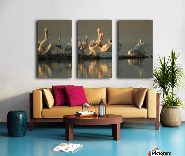 Love At First Sight Split Canvas print