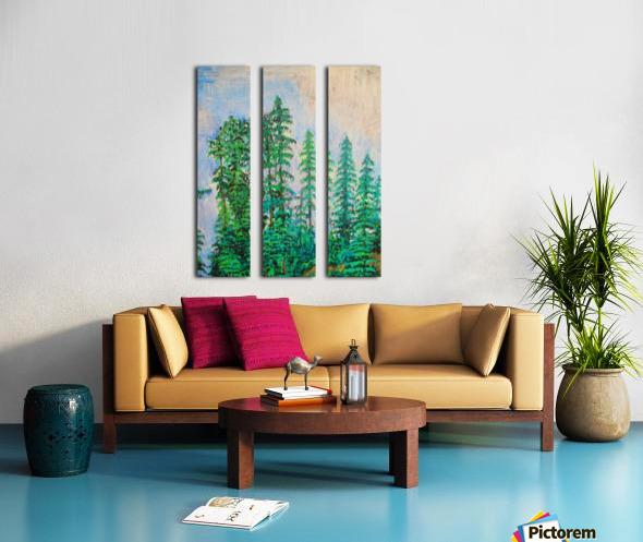 manali Split Canvas print